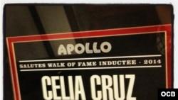 Homenaje a Celia Cruz en el teatro Apolo de Nueva York
