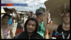 Más de 1.000 cubanos en Costa Rica a la espera de poder seguir hacia EEUU