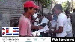 Instituto Cubano de Libertad de Expresión y Prensa (ICLEP), cuenta de Twitter.