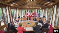 SEGUNDA JORNADA DE LA CUMBRE DEL G7 EN ALEMANIA