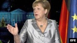 Popularidad de Angela Merkel para próximos comicios va en ascenso
