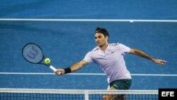 Roger Federer en la Copa Hopman.