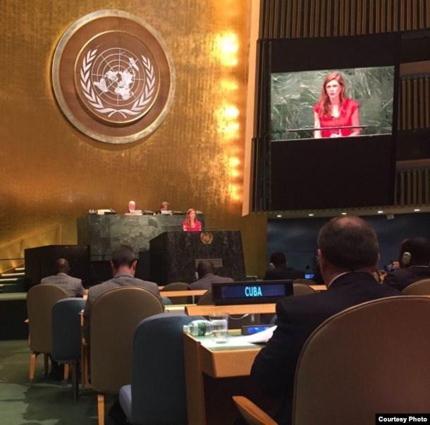 Samantha Power en la ONU