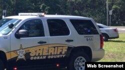 Sheriff Ocean County. Foto de archivo.