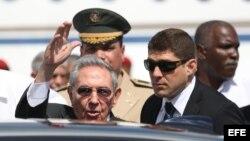 Raúl Castro el 24 de enero de 2017, en Punta Cana (República Dominicana).