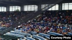 Vista parcial del estadio de Fort Lauderdale