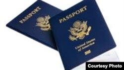 Pasaportes de EEUU.