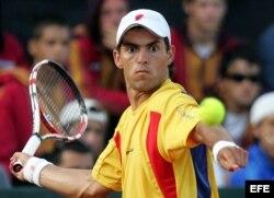 El tenista colombiano Santiago Giraldo.