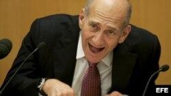 Fotografía de archivo del exprimer ministro israelí, Ehud Olmert.