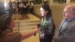 La opositora Rosa María Payá responde a insólita entrevista de un medio oficialista.