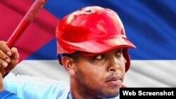 Yasmany Tomás, pelotero cubano.