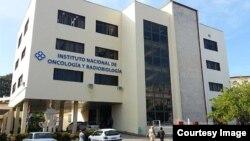 Instituto de Oncología y Radiobilogía en La Habana.