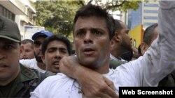 El opositor venezolano Leopoldo López fue detenido nuevamente este martes. (Foto: Archivo)