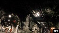 El trabajo en el interior de las minas puede ser un camino sin retorno