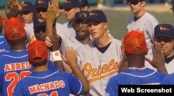 Cuba vs Orioles de Baltimore.