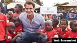 Roger Federer Foundation.
