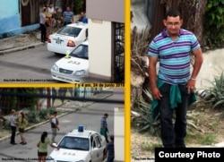 Operativo policial contra las Damas de Blanco, el 24 de junio de 2018.