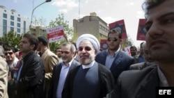 El presidente electo de Irán, Hasan Rohani