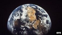 Foto de archivo del planeta Tierra.