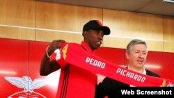El Benfica fichó al triplista cubano Pedro Pichardo.