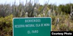 Isla de Mona es una reserva natural de Puerto Rico