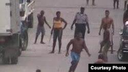 Violencia callejera al oriente del país