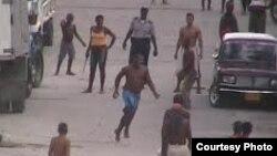 Alto índice de violencia en Cuba