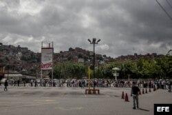 Venezuela, colas para comprar en los mercados.