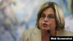 La congresista cubanoamericana, Ileana Ros-Lehtinen.