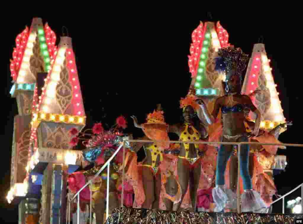 Las celebraciones del tradicional Carnaval de La Habana.
