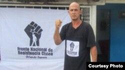 El opositor cubano Jorge Vásquez Chaviano.