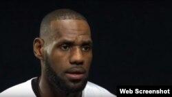 LeBron James condena el racismo en Estados Unidos.