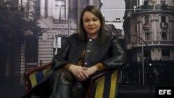 Foto Archivo. La escritora cubana Zoe Valdés.