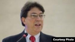Bruno Rodríguez en la Comisión de DDHH