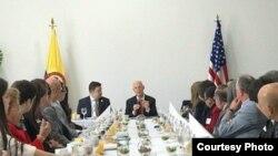 Scott: presidente de Colombia será voz contra las dictaduras
