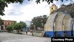 Parque José Martí en la ciudad de Guantánamo.