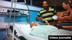 Activista Hugo Damián Prieto, hospitalizado en Instituto de Cardiología y Cirugía Cardiovascular de la Habana.