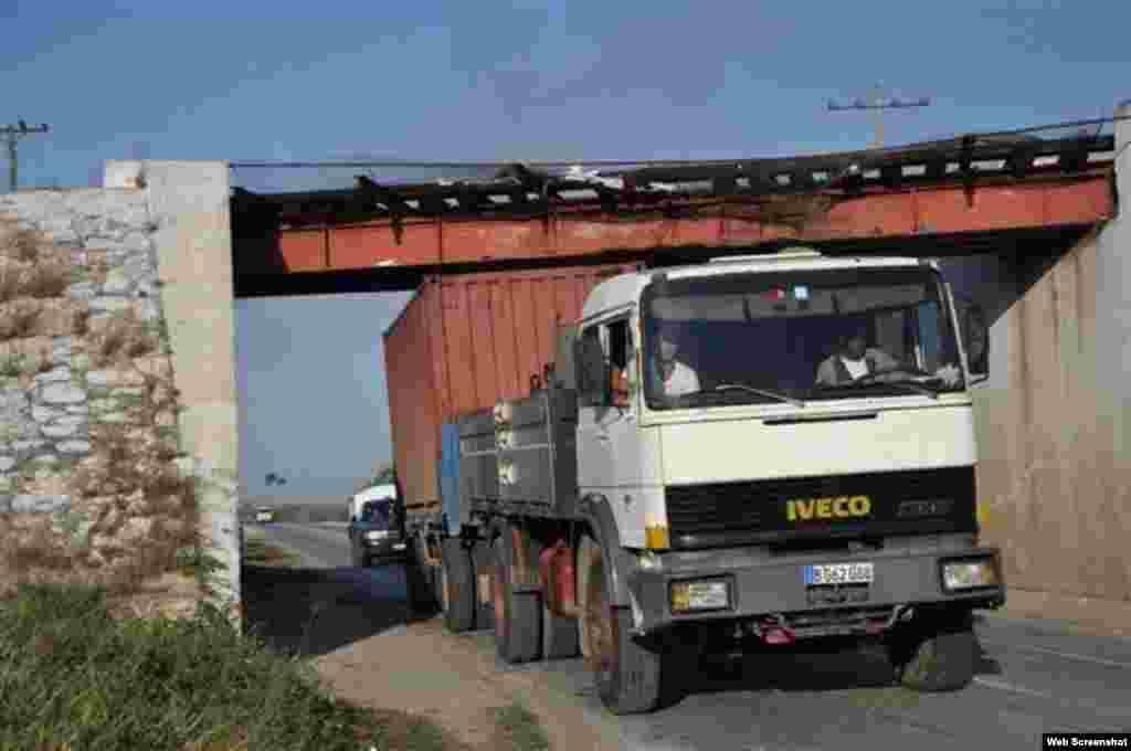 Accidente de tránsito en Jatibonico, Sancti Spíritus.