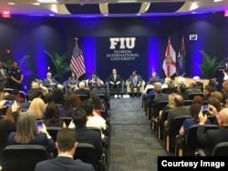 La reunión en FIU llega días después de la visita de la embajadora Haley a países de la región.