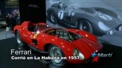 Subastan Ferrari que corrió en el Gran Prix de Cuba en 1957
