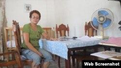 Meibol Sánchez Mujica, madre del preso Enmanuel Abreu.