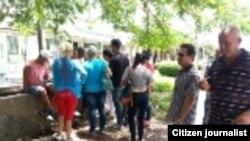 Reporta Cuba Opositores en calles de Pinar del Río este 8 de agosto