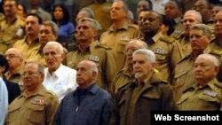 Cúpula del poder político militar cubano