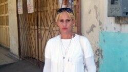Declaraciones de la dama de blanco Rosa Escalona
