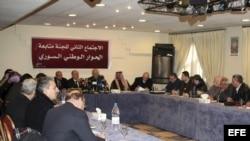 Vista de los participantes de los partidos de la oposición siria. Foto de archivo.