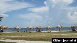 Playa de Caibarién pocas opciones para los cubanos