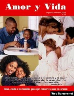 """Revista """"Amor y Vida"""", del Movimiento Familiar Cristiano de Cuba."""