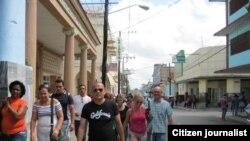 Reporta Cuba Activistas Pinar del Río se dirigen a exposición de pintura