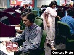 El talento tecnológico de la India es explotado por las grandes compañías.