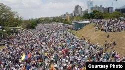 Así fueron las protestas este jueves en Venezuela